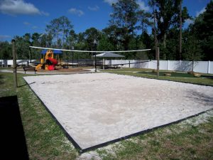 VolleyballSandCourt 300x225 Sports Field Services